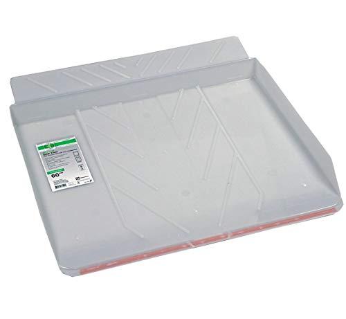 VIOKS Bodenwanne Auffangbehälter Wasserwanne Auffangwanne für Waschmaschine oder Spülmaschine wie AEG 902979333 9 E2WHD600 58,5x60cm