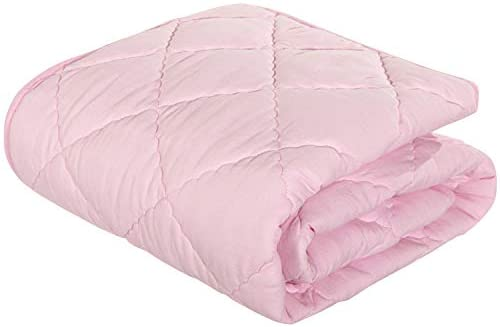 NTBAY Down Alternative Toddler Comforter Lightweight and Warm Solid Color Baby Crib Quilted product image