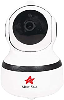 Multistar IP Smart Surveillance 1080P Camera with Motion Detection, Pan/Tilt/Zoom, Two Way Audio, MULTI HOME APP