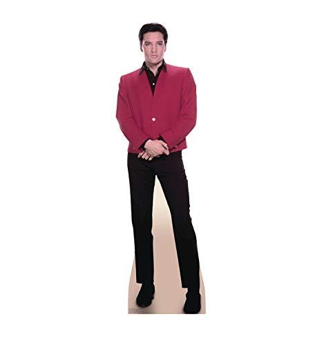 Advanced Graphics Elvis Presley Rote Jacke