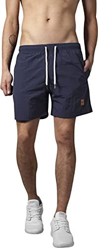 Urban Classics Herren Badehose Block Swim Shorts Navy, L