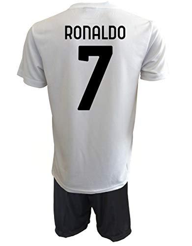 Offizielles Produkt Cristiano Ronaldo 7 CR7 Replik authorisiert 2020-2021 Kinder (Größen 2 4 6 8 10 12) Erwachsene (S M L XL) (XL Erwachsene)