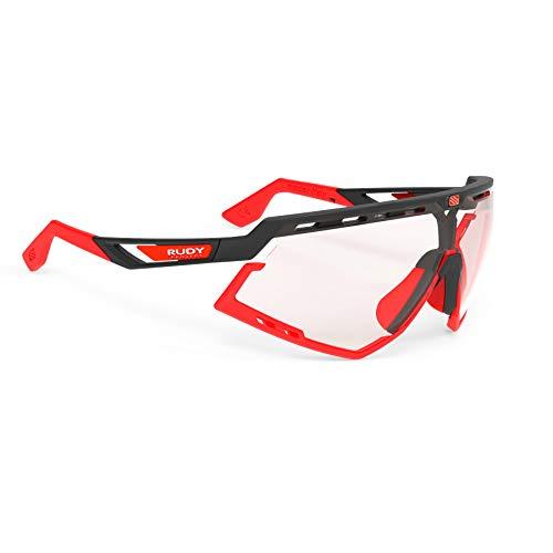 Rudy Project Occhiali Defender Black Matte – ImpactX Photochromic 2 Red