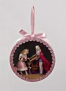 Lonestar Wholesalers Nutcracker Suite Shadow Box - DROSSELMEYER w/Clara Christmas Ornament