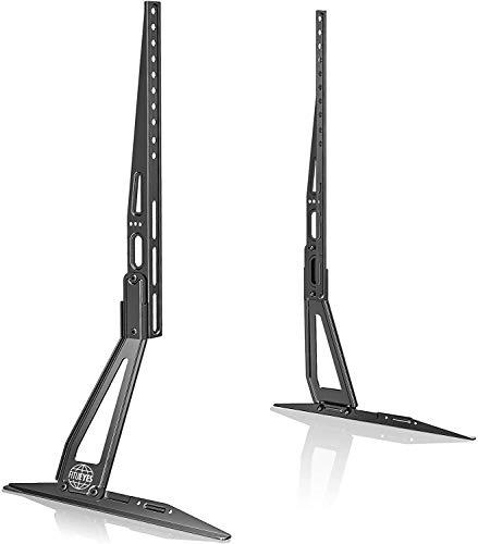FITUEYES Universal TV Ständer TV Standfuß für 22 bis 60 Zoll LCD LED Flach&Curved Fernseher Höhenverstellbar Neigbar VESA Max.800 * 400mm bis zu 50kg