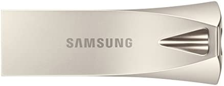 SAMSUNG BAR Plus 32GB - 200MB/s USB 3.1 Flash Drive, Champagne Silver (MUF-32BE3/AM)