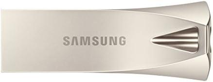 SAMSUNG BAR Plus 32GB - 200MB/s USB 3.1 Flash Drive, Champagne Silver (MUF-32BE3/AM)