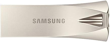Samsung BAR Plus 128GB - 300MB/s USB 3.1 Flash Drive Champagne Silver (MUF-128BE3/AM)