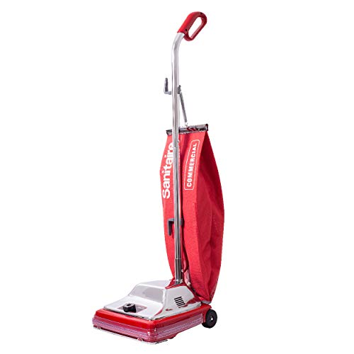 Sanitaire Tradition Upright Bagged Commercial Vacuum, SC886F, Red, (EURSC886E)