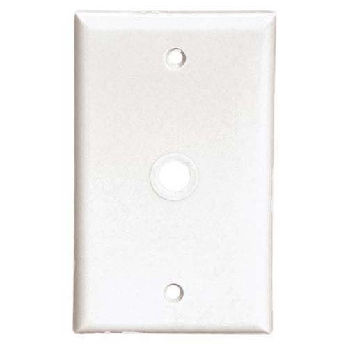 EATON Wiring BPTRW15V-L 1-Gang Shock Sentry Safety Wall Tamperproof Plate Ivory