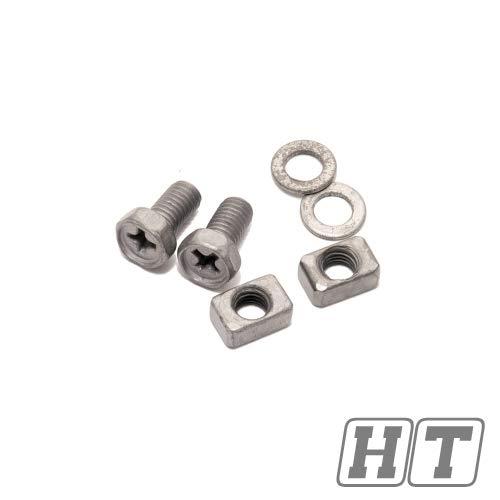 Ersatz Schrauben/Klemmen für Rollerbatterie/Batterie - (2 Schrauben + Muttern) 5mm