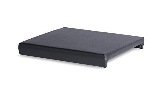 Klemmkissen 2er Set - hoher Sitzkomfort, stabile Schaumeinlage 2,5 cm (verschiedenen Farben) passend für Bänke und Hocker
