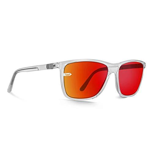 gloryfy unbreakable eyewear Gloryfy Gi15 St. Pauli - Gafas de sol irrompibles, unisex, color rojo