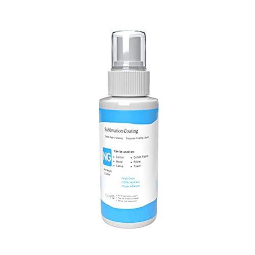 CLFYOU 100ml Kleidung Klar Spray Sublimation Beschichtung für Baumwolle Haushalt Sublimation Feste Supplies Schutz-Spray