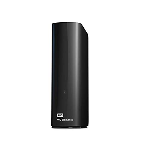 WD Elements Desktop - Disco duro externo de sobremesa de 14 TB, color negro