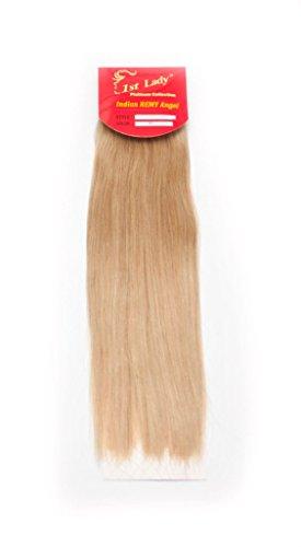 45,7 cm Premium indien Ange 100% Remy Extension de cheveux humains tissage 113 g # S9 (# 24)
