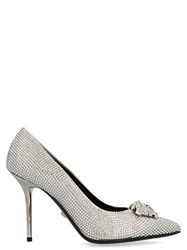 Versace Luxury Fashion Damen DSL963NDRA19D92P Silber Pumps | Herbst Winter 19