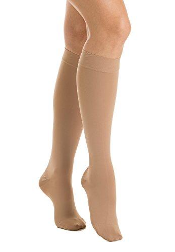 Relaxsan M2150 (Beige, Tg.5) Calcetines a la rodilla ortopé