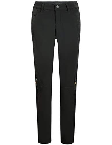 Camii Mia Women's Windproof Waterproof Outdoor Fleece Hiking Winter Pants (W29 x L30, Black)