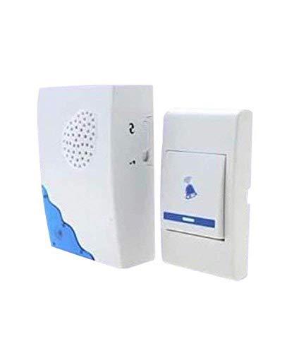 SKE Musical Sound Cordless Doorbell, Wireless Remote Control Door Calling Bell 150 Meters Long (Multi Design)