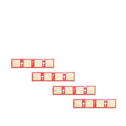 4x Toner Reset Chip Chips (4 Farben) für Samsung CLP-320 / CLP-325 / CLX-3180 / CLX-3185