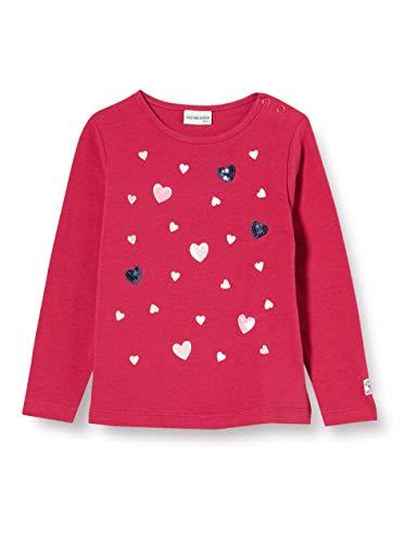 Salt & Pepper Baby-Mädchen 05211203 Hemd, Cranberry, 74