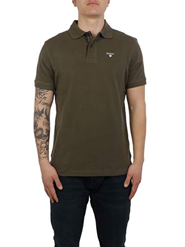 Barbour Luxury Fashion Herren BAPOL0119OL51 Grün Poloshirt |