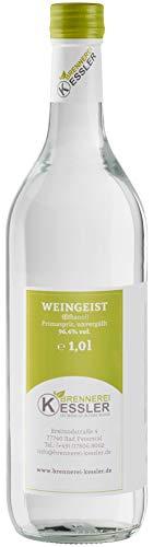 Brennerei Kessler Weingeist Primasprit Ethanol 96,4% - 1000ml