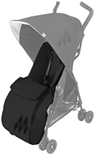 Maclaren Mark II Footmuff- Perfect Cold Weather Stroller Accessory. Lined with Soft Fleece Adding Extra Padding to The seat. Fits Mark II Maclaren. Easy to Attach