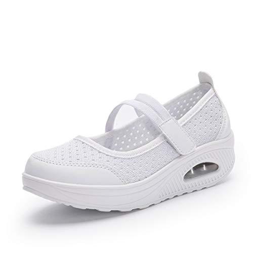 Gracosy Zapatos Malla Caminar Mujer 2019 Casual Sport