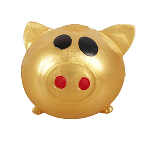 Dynamovolition Kids Toys Jello Pig Cute Anti Stress Splat Water Pig Ball Vent Toy Venting Sticky Pig No tóxico Clear Relief Stress Toys