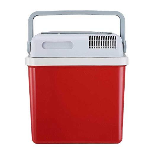 L@LILI Autokühlschrank, Elektronischer Kühlschrank Mini-Kühlschrank heiß & Kühlbox 21l Kühlschrank tragbarer Kühlschrank für Reisebüro,B