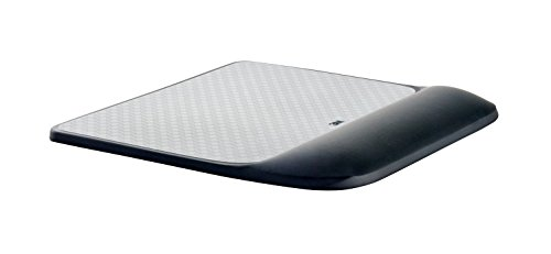 3M Precise Mouse Pad with Gel Wrist Rest, Soothing 3M Gel Technology and Satin Smooth Cover for All Day Comfort, Optical Mouse Performance and Battery Saving Design (MW85B)