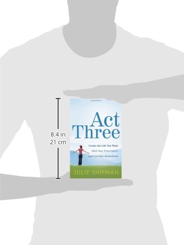 Act Three: Create the life you want after your first career and full-time motherhood