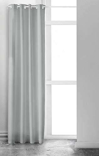 TODAY Rideau fenêtre à oeillets Hygge 140x240 cm vert gris