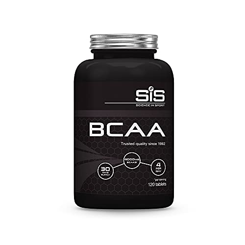 Science in Sport | BCAA Capsules | 4000mg/Serving | 3 Essential Amino Acids | Protects Muscle Tissue & Reduces Fatigue| Vegan, Dairy-Free, Gluten-Free, Lactose-Free | 120 Capsules (30 Days Supply)