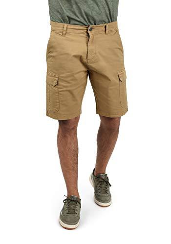 Blend Barni Herren Cargo Shorts Bermuda Kurze Hose, Größe:L, Farbe:Sand Brown (75107)