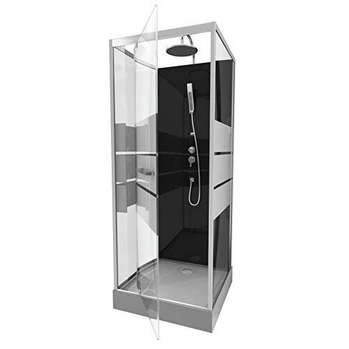 Cabine de douche carrée 70x70x225cm - SCRATCHY 70
