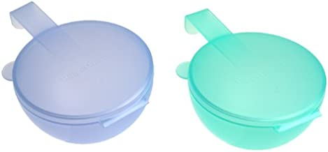 Tupperware Forget Me Not Containers, Set of 2