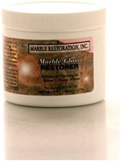 Marble Gloss Restorer (4 OZ) - By Marble And Granite Care Products - Removes Stains, Spots, Etchings, & Fine Scratches