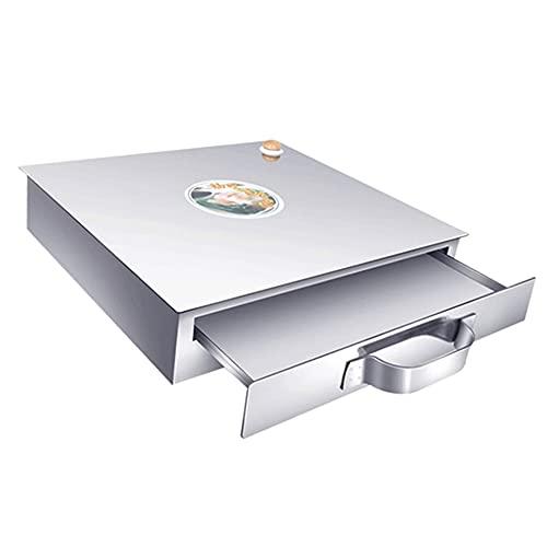Máquina de rodillo de vermicelli al vapor de acero inoxidable, rollos de rollos de fideos de arroz, capa de tirón de cuadrícula portátil, para cocinar recetas de cocina china utensilios de cocina