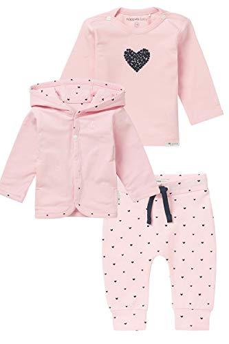 Noppies Baby Leggings Geschenkverpackung Luxe Magnolia Shirt und eine Jogginghose Farbe: Light Rose (C092) Gr. 56