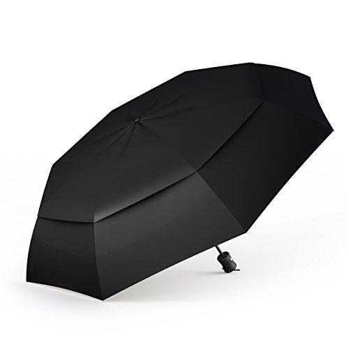 Paraguas Plegable Automático De Viaje Procella – 100% Impermeable...