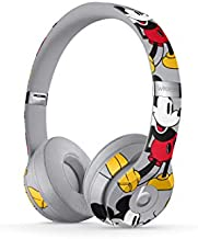 Beats Solo3 Wireless On-Ear Headphones - Apple W1 Headphone Chip, Class 1 Bluetooth, 40 Hours Of Listening Time - Mickey's 90th Anniversary Edition - Grey (Previous Model)