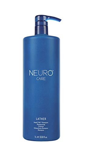 Paul Mitchell Neuro Lather HeatCTRL Shampoo - Hitzeschutz-Shampoo mit HeatCTRL Technologie, Thermo-Care Shampoo für Hitze-geschädigtes Haar, 1000 ml