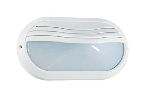 Aric 2202 OVO, Plastique, E27, 40 W, Blanc