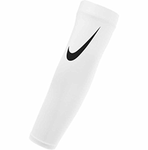 Nike Pro Youth Dri-Fit Shivers 3.0 Sleeves White/Black One Size