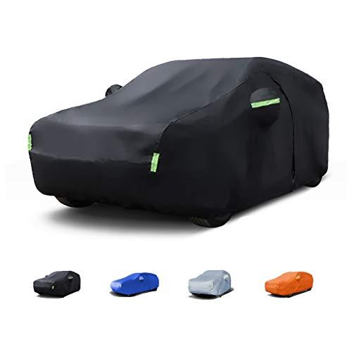 Telo Copriauto da Esterno -, Compatibile con la Copertura dell'automobile Audi RS6 / E- Tron, Materiale avanzato Bayer (Color : Black, Size : E-Tron)