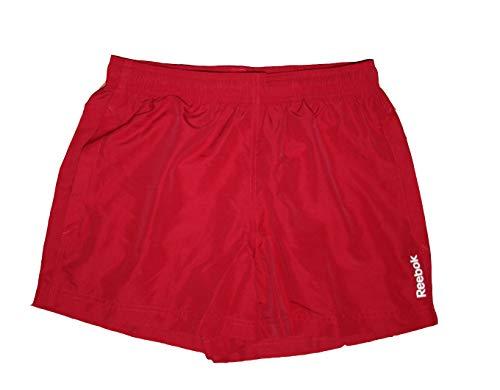 Reebok Badeshorts, Reebok rot Mit elastischem Bund und Innenkordel