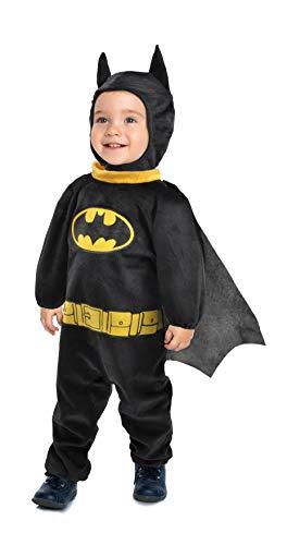 Ciao-Batman Baby costume tutina travestimento originale DC Comics (Taglia 2-3 anni) Disfraz de bebé, color nero, giallo, (11724.2-3)